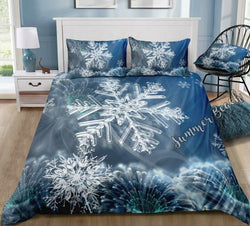 Snowflake Bed Set - New