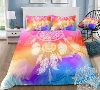 Sunset Dreamcatcher Bed Set