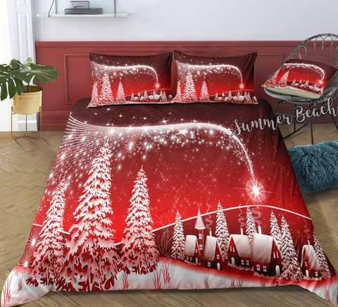 Christmas Town Bed Set - New