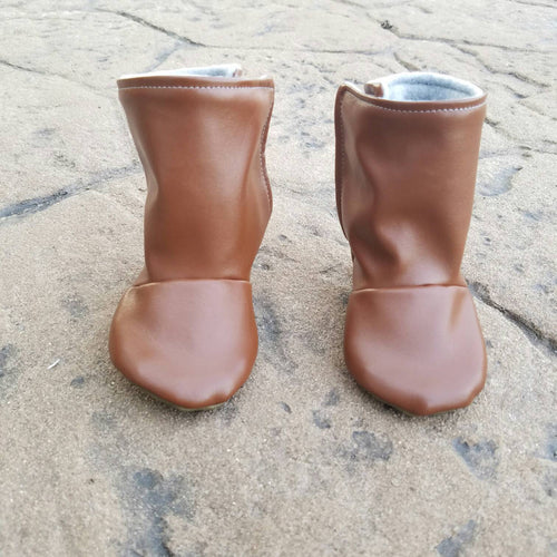 Brown Baby Boots - mooi lab