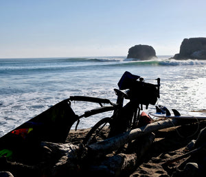 Bike Surf Touring the Central California Coast