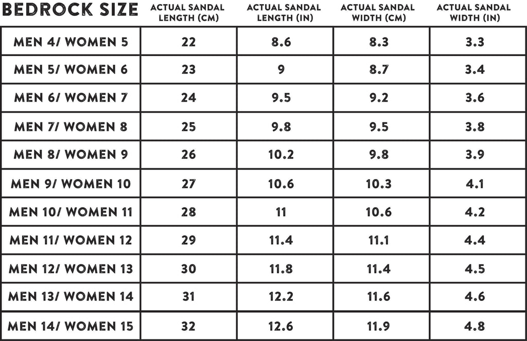 Dont Have Access To A Printer Consult Our Sizing Chart Above We Advise Measuring The Length Of Your Feet And Ordering A Size That Is 1 2 Cm Longer