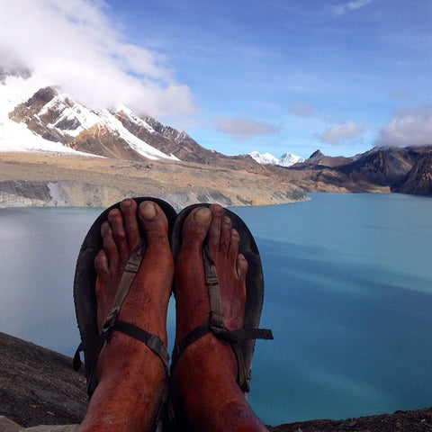 Bedrock Sandals Ambassador Hiking in Nepal - Naresh Kumar