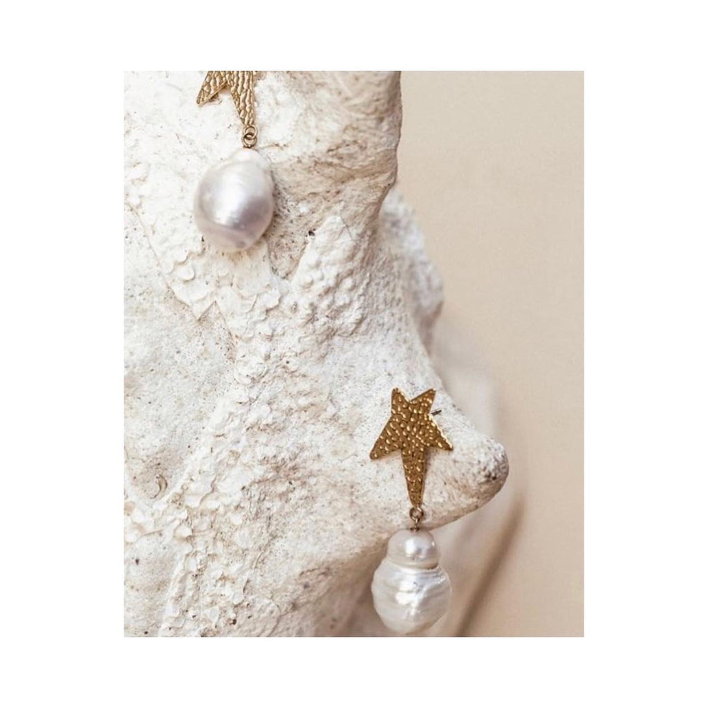 Siren Star Baroque Earring