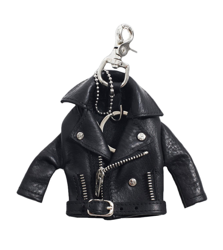 Leather Jacket Keyring