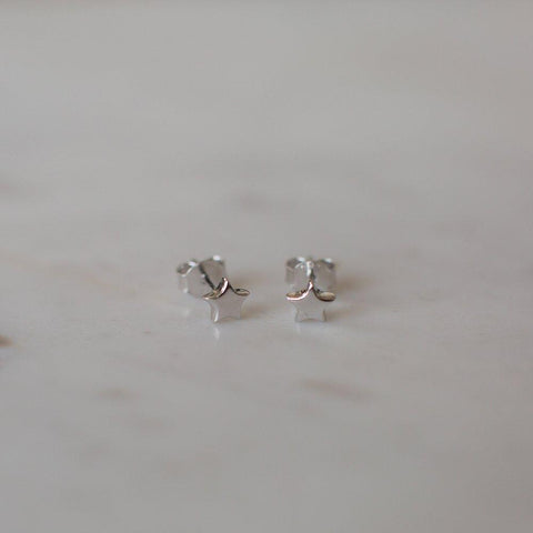 Twinkle Stud Earrings // Sterling Silver