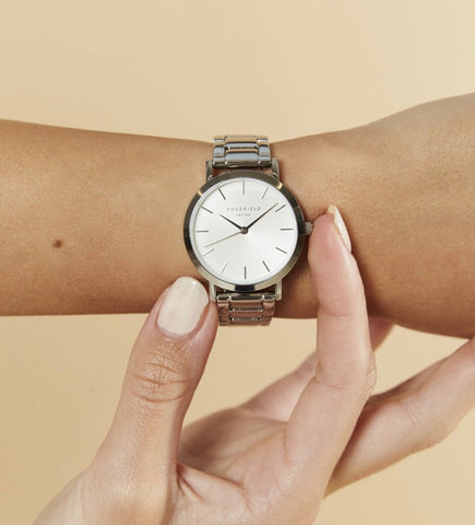 The Tribeca // White Dial // Silver