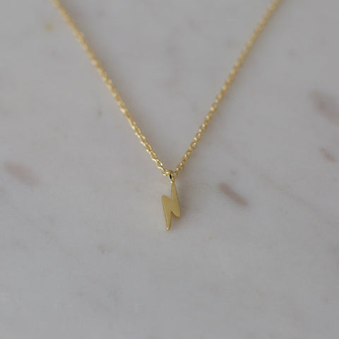 Flashy Necklace // Gold