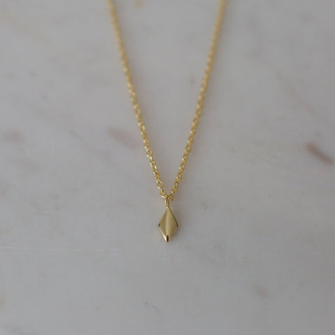 Diamond Necklace - Gold