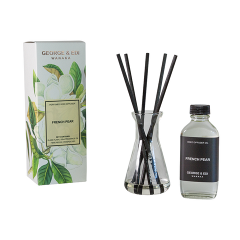 George & Edi Diffuser Set | French Pear