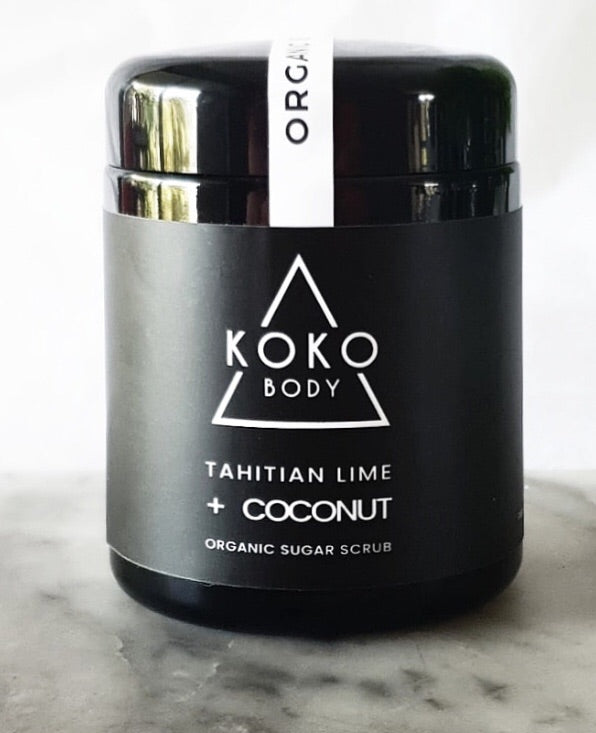 Tahitian Lime + Coconut Body Scrub