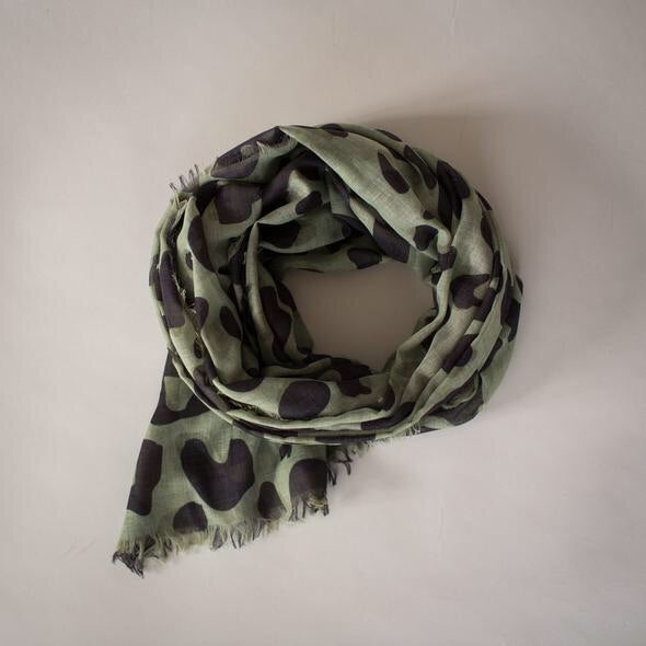Wild Olive Maxi Scarf