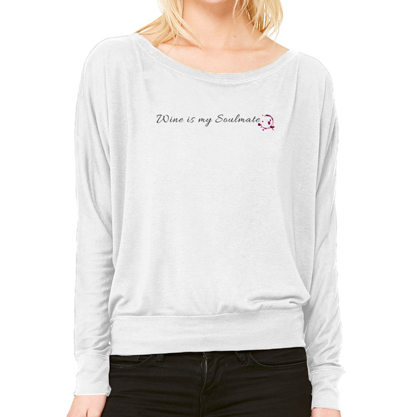 Wine is my Soulmate Long Sleeve t-shirt