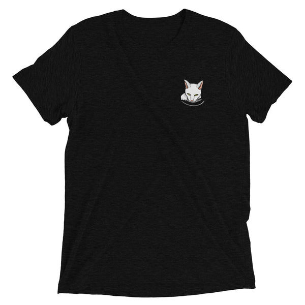 Cat in a Pocket Unisex t-shirt