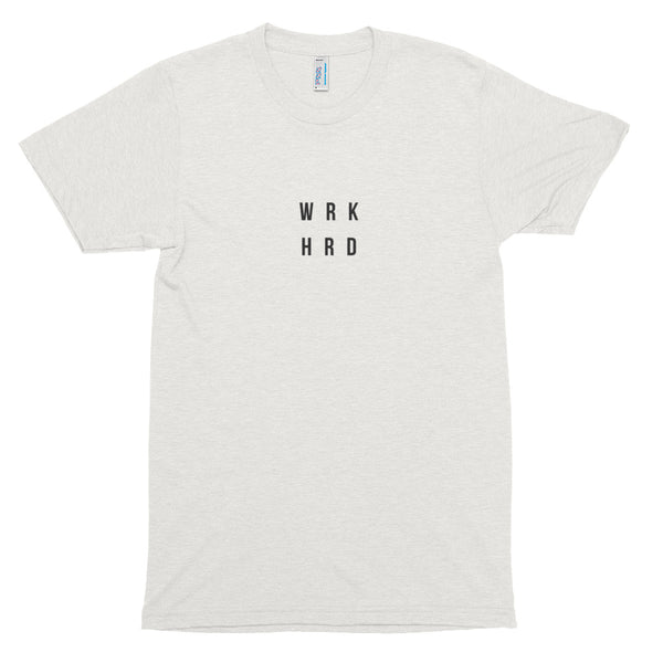 WRK HRD Short sleeve soft t-shirt