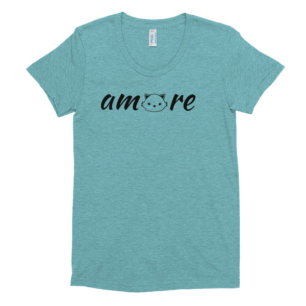 Amore Cat Edition Women's Crew Neck T-shirt
