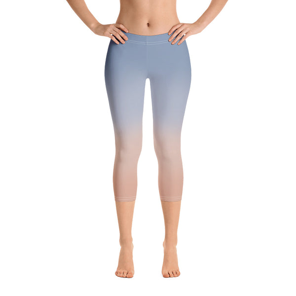 WELLNESS SKY Capri Leggings