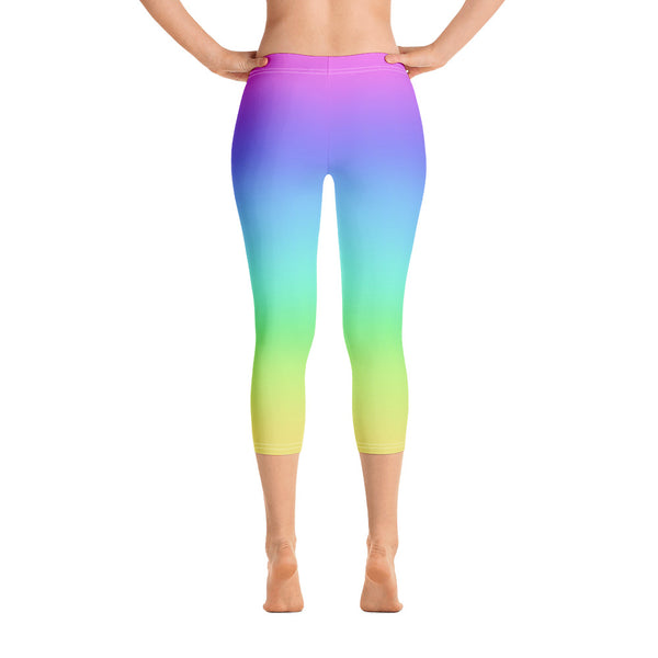 Rainbow Capri Leggings