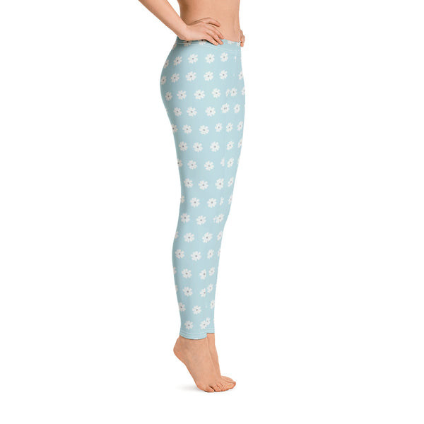 MINI DAISIES Light Blue Leggings