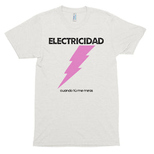 ELECTRICIDAD - Short sleeve soft t-shirt