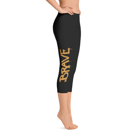 BRAVE Capri Leggings