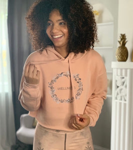 WELLNESS by Wen Crop Hoodie