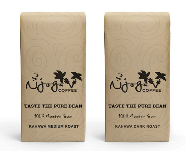 Kahawa Medium & Dark Roast (2lbs whole bean)