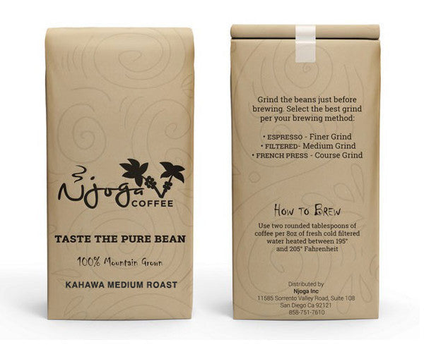 Kahawa Medium Roast (12oz whole bean)