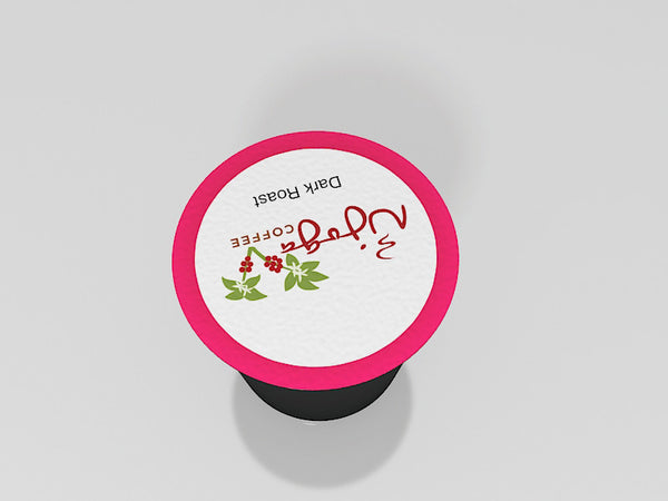 Kahawa Peaberry K-Cup (24 Cup)