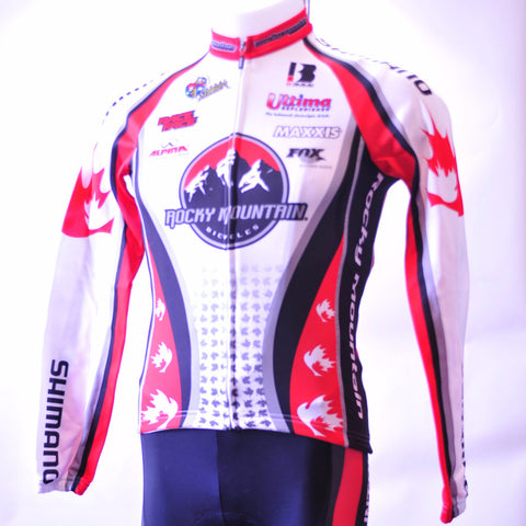 Rocky Mountain Factory Thermal cycling jersey, Long-sleeve jersey, Biemme,- CyclingOutlet.ca