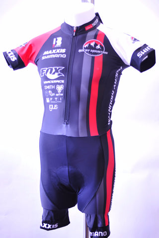 Rocky Mountain Factory Short Sleeve skinsuit, Skinsuit, Biemme,- CyclingOutlet.ca