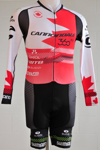 Team Cannondale 360fly Canadian Champ Thermal Skinsuit