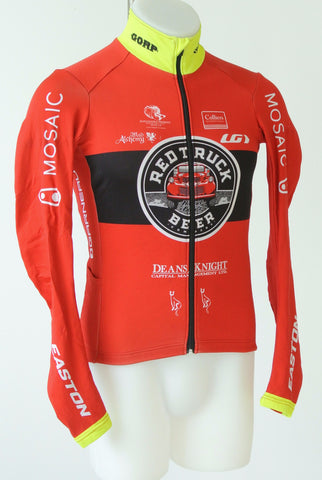 Red-Truck Racing long-sleeve thermal jersey, Winter Jersey, Louis Garneau,- CyclingOutlet.ca