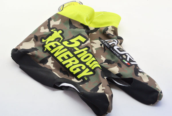 5-Hour Energy Aero Shoe-Covers - New - Camo