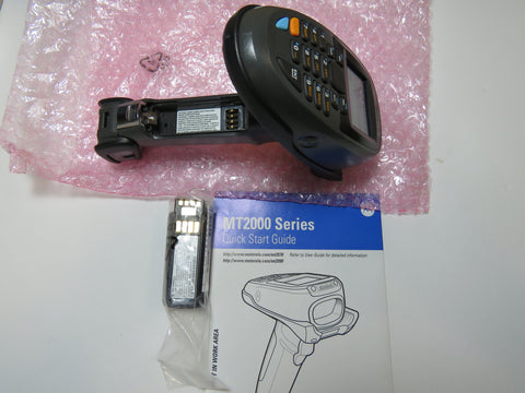 Motorola Symbol MT2070-SD0D62370WR Barcode Scanner Only w/Battery