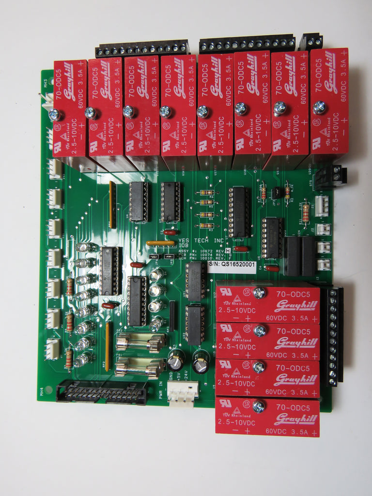 YesTech 10072 I/O Board PCB
