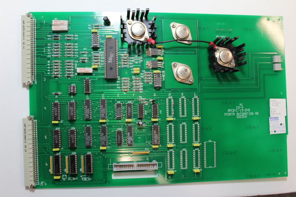 Mydata L-019-049-4 Rev.8 Automation Board