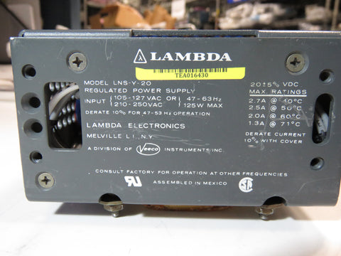 Lambda LNS-Y-20 Power Supply