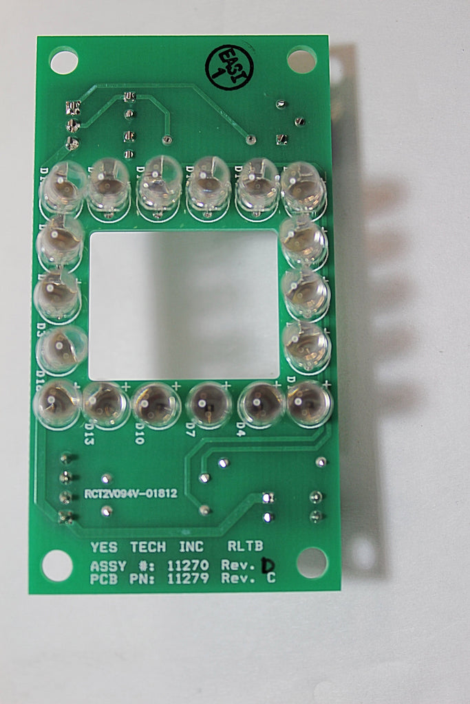 YesTech PCB 11270 Red Light Top board