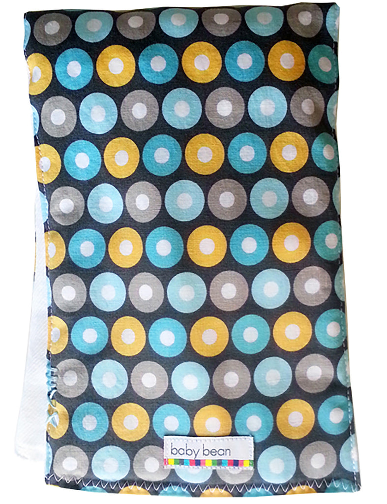 burp cloth : koala dot