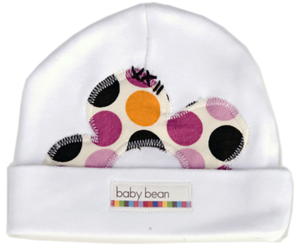 flower cap : brown dot