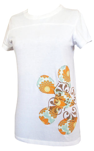 bean {for women} : heirloom floral tee