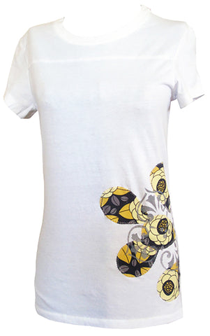 bean {for women} : belle yellow tee