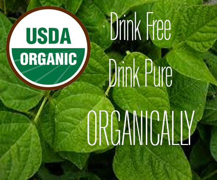Drink organic purely and freely