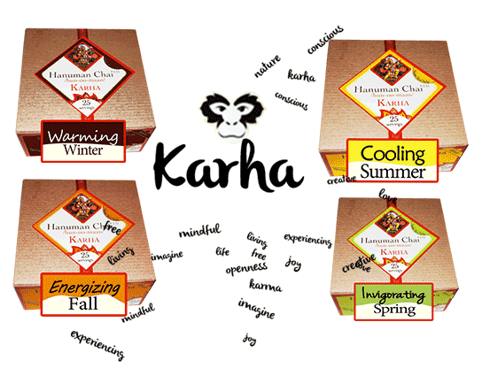 Karha is available in 4 season blends
