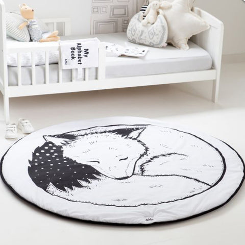 SLEEPING FOX BABY PLAYMAT