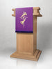 Advent Star & Horn Lectern Hanging