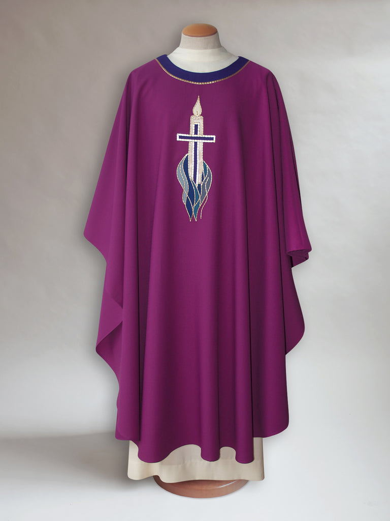 Advent Candle Motif Chasuble