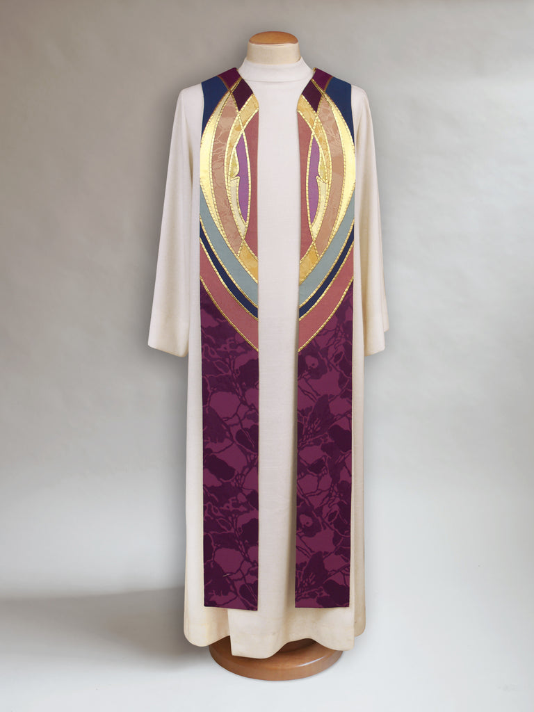 Simplified Advent Candle Stole