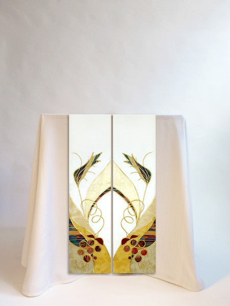 eucharistic christmas or easter scarves